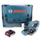 Bosch GHO 18 V-LI Akku Hobel 18V + 1x Akku 2,0Ah + L-Boxx - ohne Ladegerät