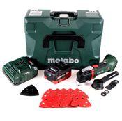 Metabo MT 18 LXT Akku Multitool 18V ( 613021840 ) OIS-/Starlock-kompatibel + 1x Akku 5,5Ah + Ladegerät + Koffer