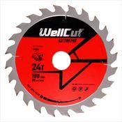 WellCut Kreissägeblatt WC-C1903024 TCT 190 x 2,4 x 30mm 24 Zähne