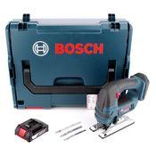 Bosch GST 18 V-LI B Akku Stichsäge 18V + 1x Akku 2,0Ah + L-Boxx - ohne Ladegerät