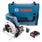 Bosch GKS 18V-57 G Akku Kreissäge 18V 165mm + 1x Akku 2,0Ah + L-Boxx - ohne Ladegerät