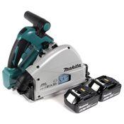 Makita DSP 600 G Akku Tauchsäge 36V (2x18V) Brushless + 2x Akku 6,0Ah - ohne Ladegerät
