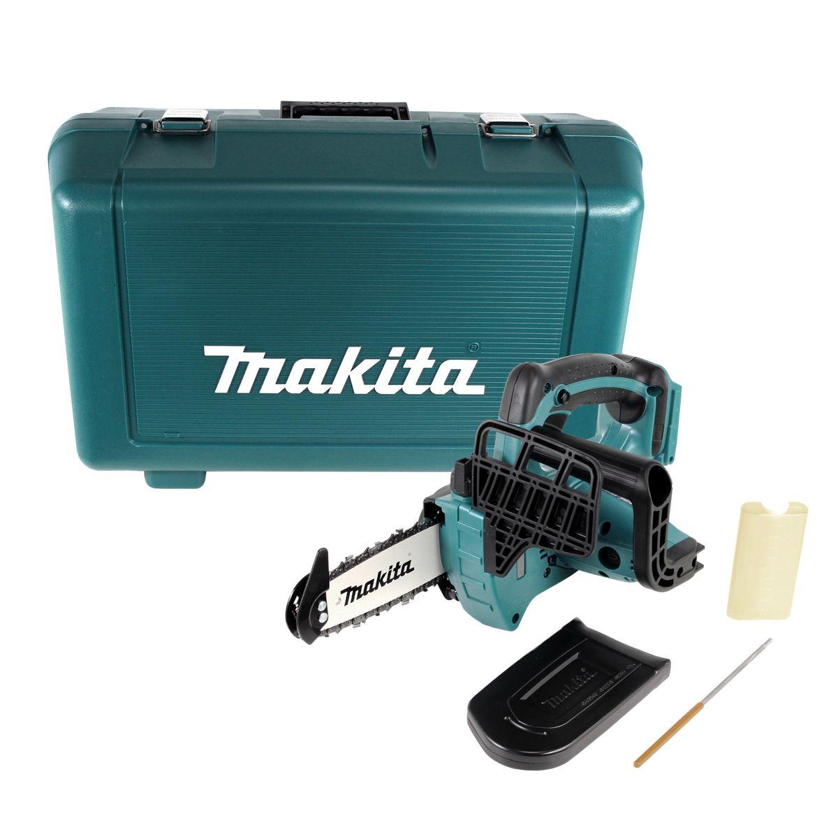 Makita DUC122Z Akku Kettensäge 18V Top Handle Motorsäge ohne Akku ohne Ladegerät
