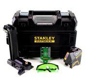 Stanley SLG-2V Linien Laser FatMax Li-Ion Grün ( FMHT77617-1 ) 360° IP54 + TSTAK