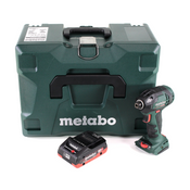 "Metabo SSD 18 LTX 200 BL Akku Schlagschrauber 18V 200Nm 1/4"" Brushless + 1x Akku 4,0Ah + MetaLoc  - ohne Ladegerät"
