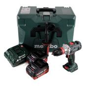 Metabo BS 18 LTX BL Q I Akku Bohrschrauber 18V 120Nm Brushless + 2x Akku 5,5Ah + Ladegerät + MetaLoc ( 602351660 )
