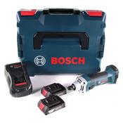Bosch GGS 18 V-LI Akku Geradschleifer 18V + 2x Akku 2,0Ah + Ladegerät + L-Boxx