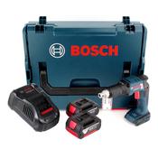 Bosch GSR 18 V-EC TE Akku Trockenbohrschrauber 18V 25Nm Brushless + 2x Akku 3,0Ah + Ladegerät + L-Boxx