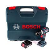 Bosch GSB 18V-60 C Akku Schlagbohrschrauber 18V 60Nm Brushless + 1x Akku 2,0Ah + L-Case - ohne Ladegerät
