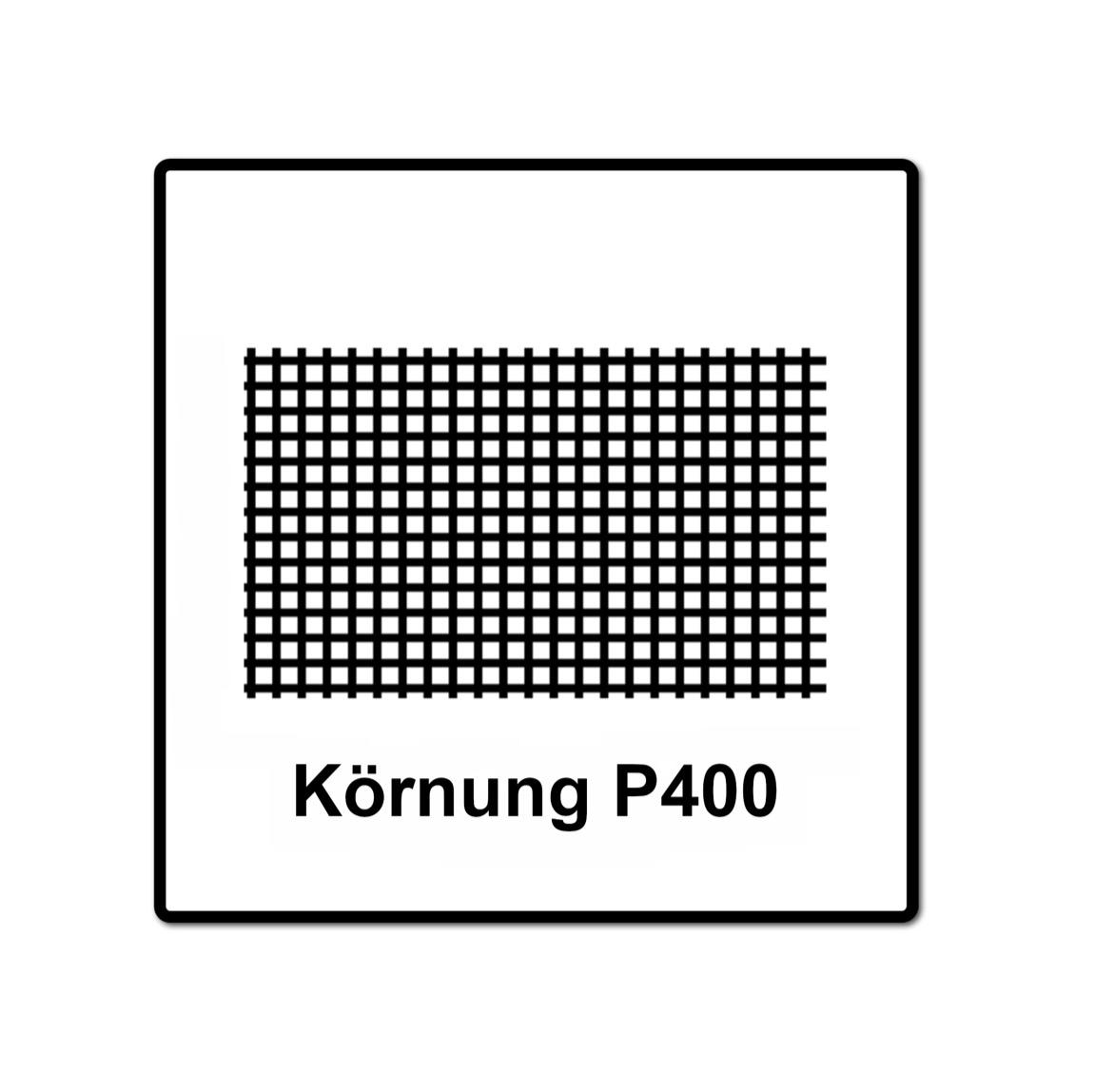 Mirka ABRANET Schleifscheiben Grip 125mm P320 50Stk. 5423205032