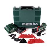 Metabo MT 18 LTX Akku Multitool 18V Solo + 1x Akku 4,0Ah + Ladegerät + Koffer
