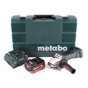 Metabo W 18 LTX 125 Quick Winkelschleifer 18V 125mm + 1x Akku 5,5Ah + Ladegerät + Koffer