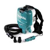 Makita DVC 265 ZXU Akku Rucksackstaubsauger 36 V (2x 18 V) Brushless Solo - ohne Akku, ohne Ladegerät