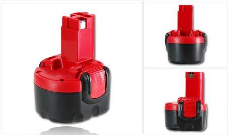 Dinotech Akku kompatibel mit Bosch 9,6 V 1500 mAh Ni-Cd TYP A – Bild 1