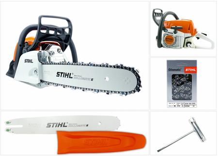 STIHL MS 251 Kettensäge / Motorsäge mit 35 cm Schnittlänge + 1,3 mm Kette – Bild 1