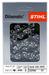 STIHL MS 251 Kettensäge / Motorsäge mit 35 cm Schnittlänge + 1,3 mm Kette – Bild 5