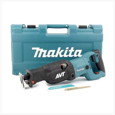 MAKITA JR 3070 CT 1510 Watt Säbelsäge Reciprosäge + 2er Pack Sägeblätter im Makita Koffer – Bild 2