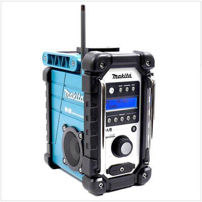 Makita DMR 104 Baustellen Radio Solo Grün DAB Digital, ohne Akku + ohne Ladegerät – Bild 2