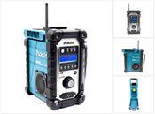 Makita DMR 104 Baustellen Radio Solo Grün DAB Digital, ohne Akku + ohne Ladegerät