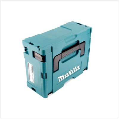 2x Makita Kunststoff Werkzeug Koffer MAKPAC 2 - ohne Einlage – Bild 3
