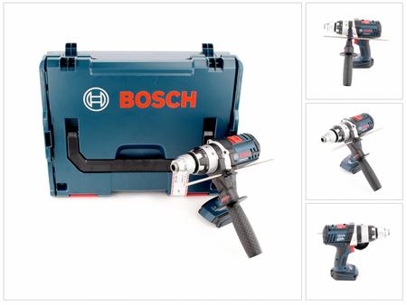 Bosch GSB 18 VE-2-Li 18V Li-Ion Professional Akku Schlagbohrschrauber Solo in L-Boxx ( 06019D9300 / 06019D9302 ) – Bild 1