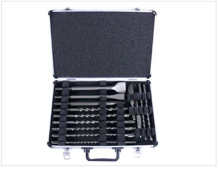Makita D-42444 SDS-Plus Bohrer-Meißel-Set 17 tlg. im Alu Koffer – Bild 3