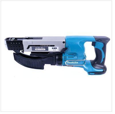 Makita DFR 550 18 V Li-Ion Akku Schnellbau Magazinschrauber  im MAKPAC mit 2 x Akku 4,0 Ah + Ladegerät – Bild 6