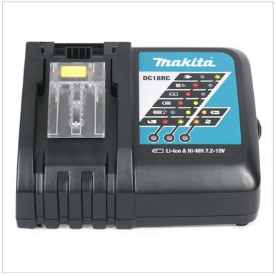 Makita DHP 458 Kit Y1J-D Perceuse-Visseuse à Percussion Compacte sans fil 18V avec boîtier MAKPAC inclus Batterie BL 1815 N + chargeur DC18RC – Bild 5