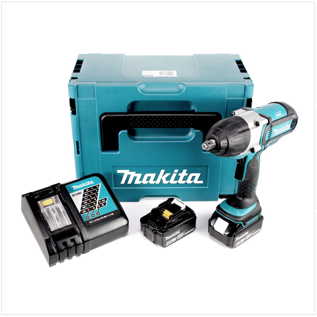makita dtw 450 rmj 18v akku schlagschrauber makpac 2x 4 0 ah akku lader ebay. Black Bedroom Furniture Sets. Home Design Ideas