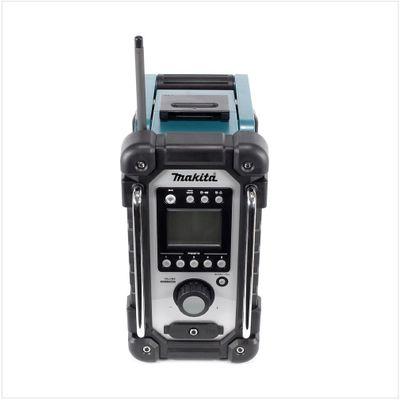 Makita DMR 102 Baustellen Radio Grün Solo - nur das Gerät ohne Zubehör - ohne Akku und ohne Ladegerät – Bild 3