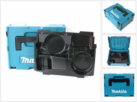 Makita MAKPAC 2 Systemkoffer - mit Einlage für BGA / DGA 452 – Bild 1