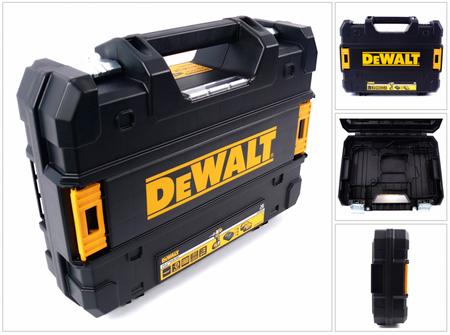 DeWalt Werkzeug Koffer TStak für DeWalt Akkuschrauber 18 V für 3,0 / 4,0 / 5,0 AH Akkus – Bild 1