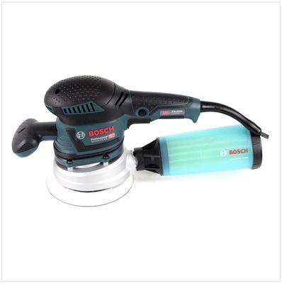 Bosch GEX 125-150 AVE Exzenterschleifer 400W ( 060137B101 ) 150mm in L-Boxx + Zubehör – Bild 3