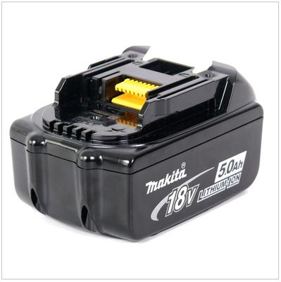 Makita BL 1850 B 18 V - 5,0 Ah Li-Ion Akku 2er Pack – Bild 3