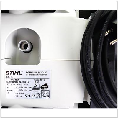 STIHL RE 88 Hochdruckreiniger 100 bar ( 4787 012 4501 ) – Bild 5