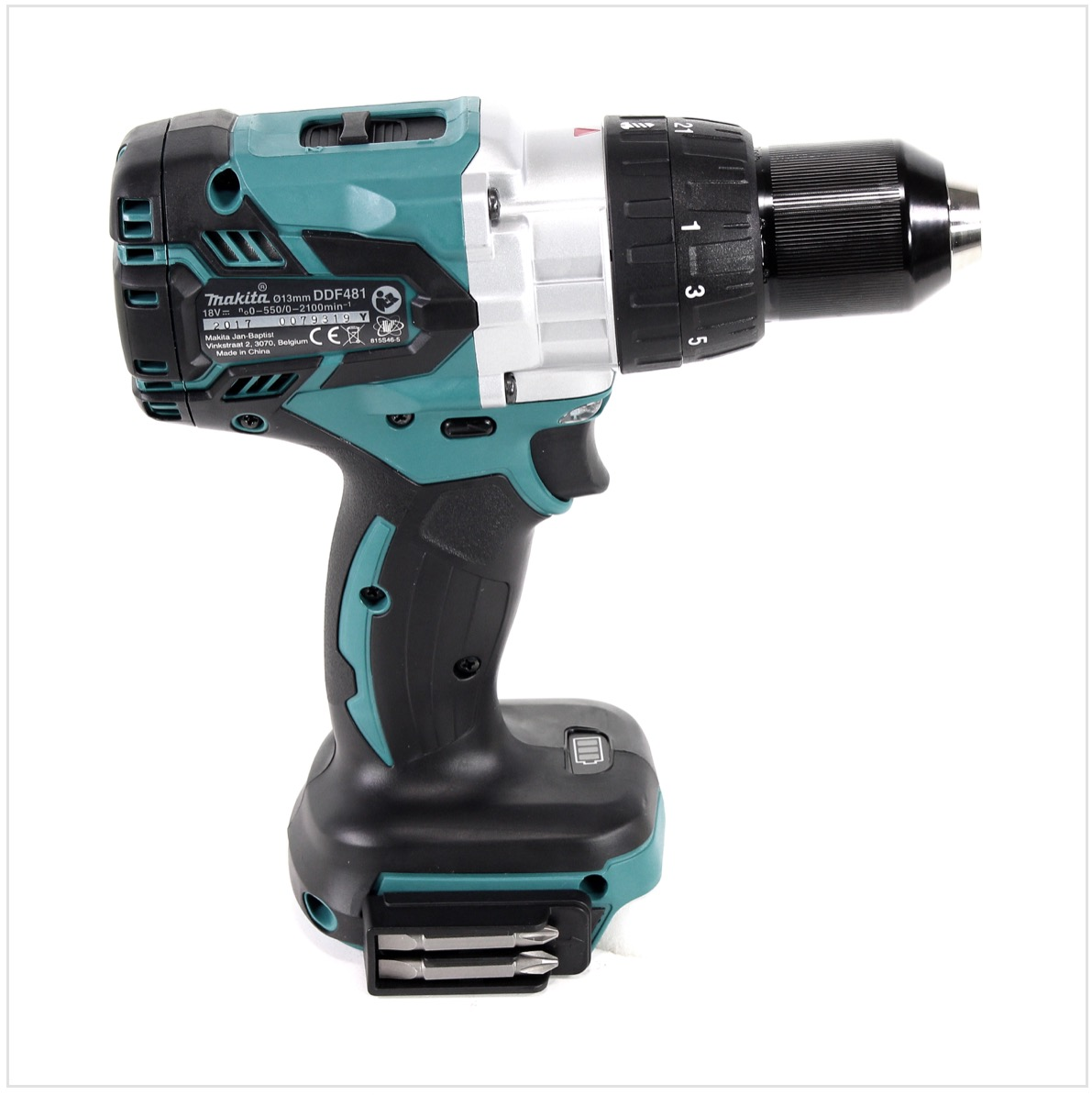 makita ddf 481 z 18 v akku bohrschrauber brushless 115nm solo ohne akku lader ebay. Black Bedroom Furniture Sets. Home Design Ideas