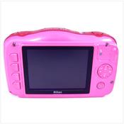 >> KOMPONENTE << Nikon Coolpix S33 Pink OUTDOORKAMERA: ohne Akku & Lader