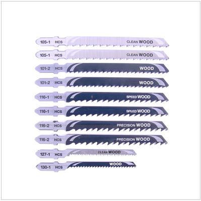 Dewalt DT 2290 Set HCS - Stichsägenblätter Holz  10 - teilig – Bild 2