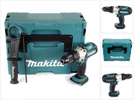 Makita DHP 451 ZJ 18 V Li-Ion Akku Schlagbohrschrauber im Makpac - ohne Zubehör, ohne Akku, ohne Ladegerät – Bild 1