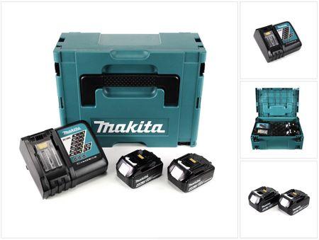Makita 18 V Power Source KIT mit 2 x 4 Ah Akkus und Ladegerät im Makpac ( 197494-9 ), früher ( 196866-5 )  – Bild 1