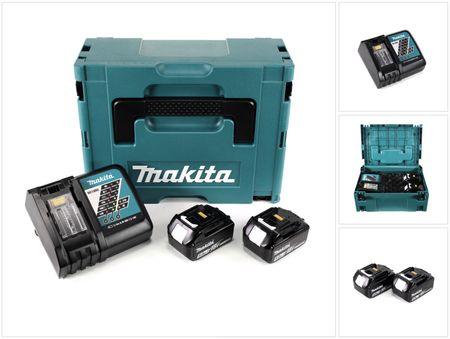 Makita 18 V Power Source KIT mit 2 x 5 Ah Akkus und Ladegerät im Makpac ( 197624-2 ) – Bild 1
