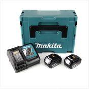 Makita 18 V Power Source KIT mit 2 x 5 Ah Akkus und Ladegerät im Makpac ( 197624-2 )