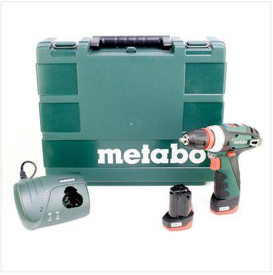 Metabo PowerMaxx BS 10,8 Quick Basic Akku Bohrschrauber ( 600156500 ) – Bild 2