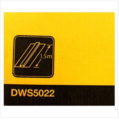 DeWalt DWS 5022 Führungsschiene für Hand - und Tauchkreissägen mit 150 cm Länge – Bild 3