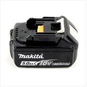 Makita BL 1850 B 18 V -  5 Ah / 5000 mAh Li-Ion Akku mit LED - Anzeige - original, kein Nachbau Bild 3