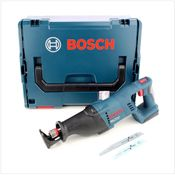 Bosch GSA 18 V-LI Akku Säbelsäge 18V Solo ( 060164J007 ) + L-Boxx - ohne Akku und Ladegerät