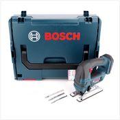 Bosch GST 18 V-Li B Professional Scie sauteuse sans fil dans coffret L-Boxx - sans Batterie, ni Chargeur