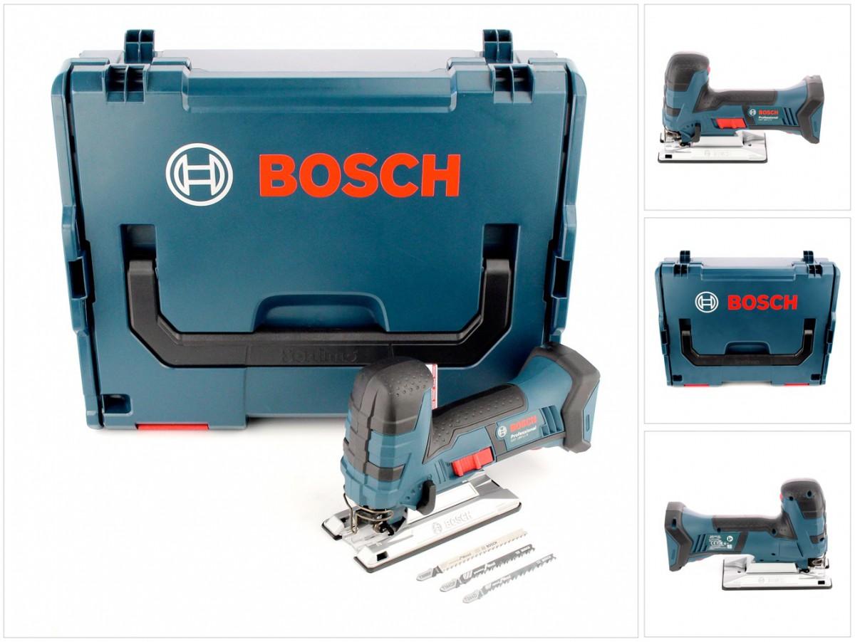 Ladegerät AL 1860 CV L-Boxx Akku 2,0 Ah Bosch Akku-Stichsäge GST 18 V-Li S