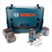 Bosch GST 18 V-LI S Akku Stichsäge 18V + 1x Akku 6,0Ah + Ladegerät + L-Boxx