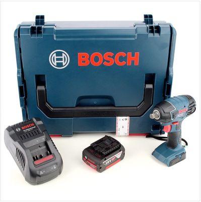 Bosch GDS 18 V-LI Professional Akku Drehschlagschrauber mit L-Boxx , Schnellladegerät und 1x GBA 6 Ah Akku  – Bild 2